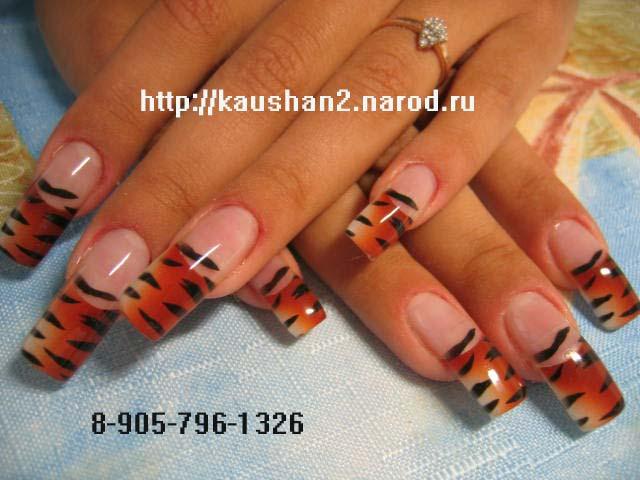 Готовый дизайн ногтей